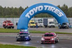 Аркадий Пучинин, BMW, и Николай Тигаев, Nissan