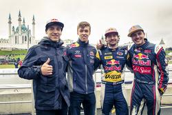 Aras Gibieza e Daniil Kvyat, Red Bull Racing e Timur Timerzyanov e Nikita Shikov