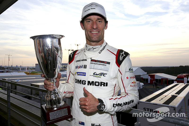Race winner Mark Webber, Porsche Team