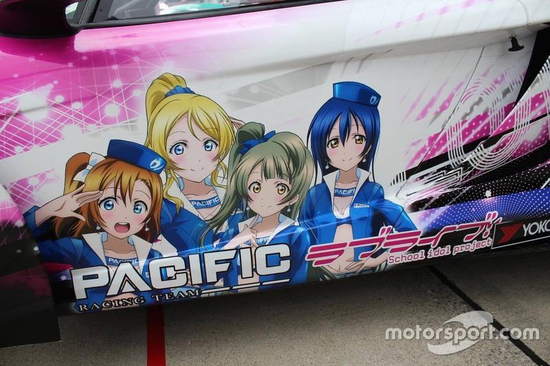 #9 Pacific Racing Team: Shirasaka Takuya, Sakaguchi Ryohei, Yamawaki Daisuke