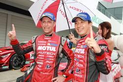 Ganadores de la pole: Tsugio Matsuda, Ronnie quintarelli, Nismo Nissan GT-R