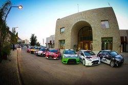 سيارات موتورتيون المشاركة في رالي لبنان 2015