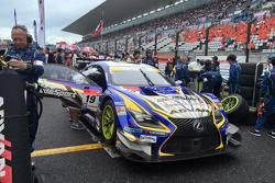 #19 WedsSport Lexus RC F: Juichi Wakisaka, Yuhi Sekiguchi