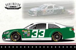 Mike Bliss special throwback paint scheme