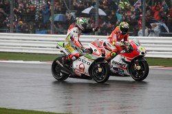 Danilo Petrucci, Pramac Racing Ducati and Andrea Iannone, Ducati Team