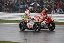 Danilo Petrucci, Pramac Racing Ducati e Andrea Iannone, Ducati Team
