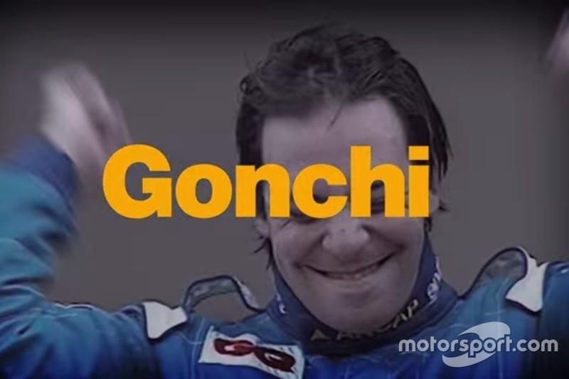 """Gonzalo Rodríguez """"Gonchi""""."""