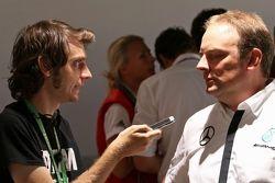 Ульрих Фриц, глава Mercedes-Benz в DTM отвечает на вопросы редактора Motorsport.com Россия Сергея Бе