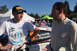 Alexey Lukyanuk al Barum Rally di Zlín