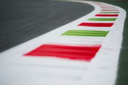 Detalle de los bordos en el circuito