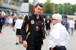 Федерико Гастальди, заместитель руководителя Lotus F1 Team и Херби Блаш, делегат FIA