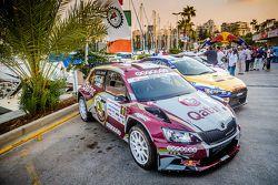 السيارات المشاركة في رالي لبنان 2015