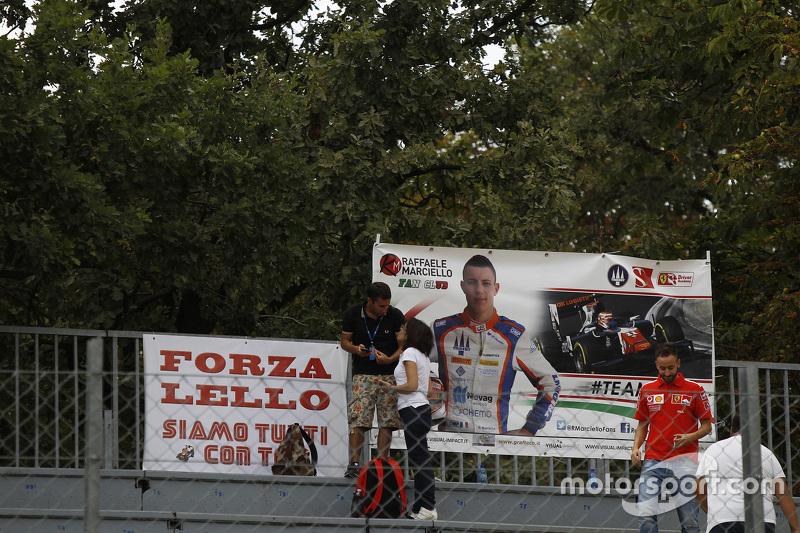 Signos de fans para Raffaele Marciello, Trident