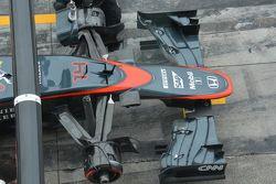 McLaren, il musetto, dettaglio