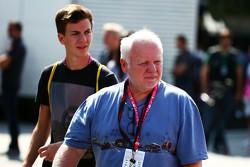 Norbert Vettel, padre de Sebastian Vettel, Ferrari