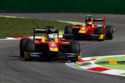 Jordan King, Racing Engineering leads Alexander Rossi, Racing Engineering