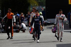 Meindert van Buuren, MP Motorsport and Arthur Pic, Campos Racing and Mitch Evans, RUSSIAN TIME and J