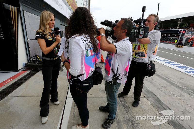 Carmen Jorda, Lotus F1 Team Piloto de desarrollo