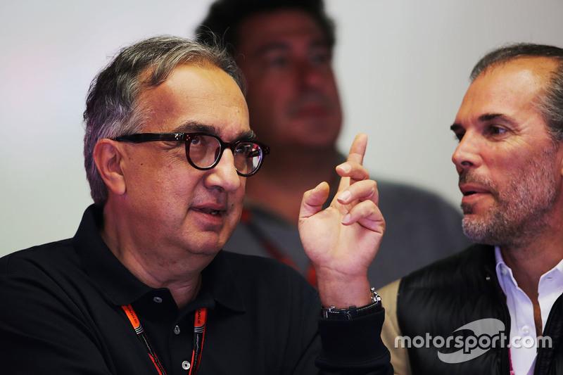 Sergio Marchionne, Ferrari Başkanı ve Fiat Chrysler Otomobilleri'nin CEO'su