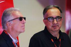 Piero Ferrari, Ferrari Vice-Presidente con Sergio Marchionne, Presidente Ferrari e CEO Fiat Chrysler Automobiles