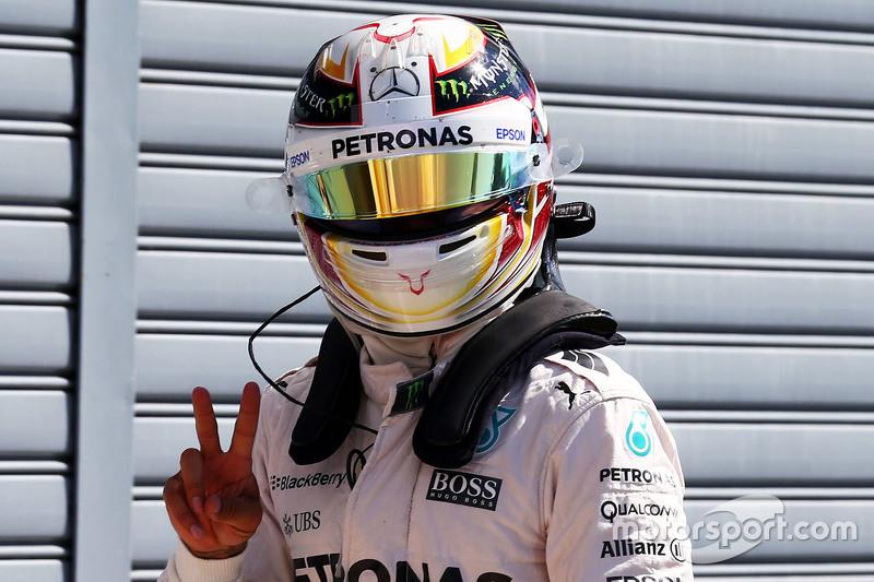 El de Mercedes en Italia 2015, última pole de la temporada para él