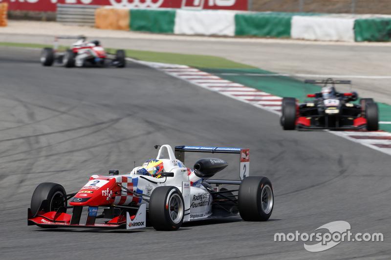 Jake Dennis, Prema Powerteam Dallara Mercedes-Benz; Alexander Albon, Signature Dallara Volkswagen; F