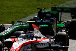 Rene Binder, MP Motorsport devant Marlon Stockinger, Status Grand Prix