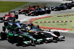 Rio Haryanto, Campos Racing devant Richie Stanaway, Status Grand Prix