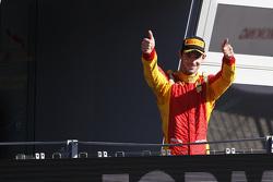 Race 1 Winner Alexander Rossi, Racing Engineering