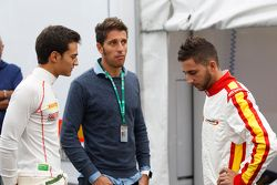 Alex Palou, Campos Racing and Brandon Maisano, Campos Racing