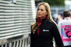 Carmen Jorda, Lotus F1 Team, Entwicklungsfahrerin