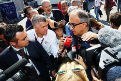 Sergio Marchionne, Ferrari President e CEO di Fiat Chrysler Automobiles