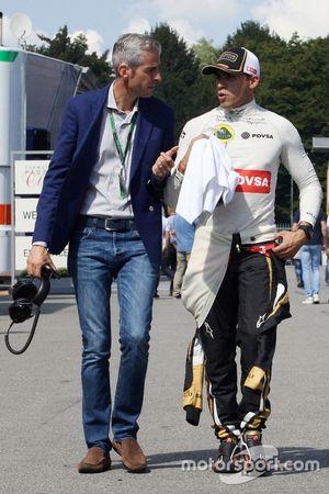 Alessandro Alunni Bravi, Driver Manager with Pastor Maldonado, Lotus F1 Team