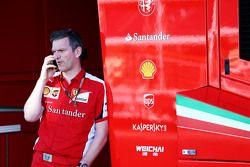 James Allison diretor técnico da Ferrari