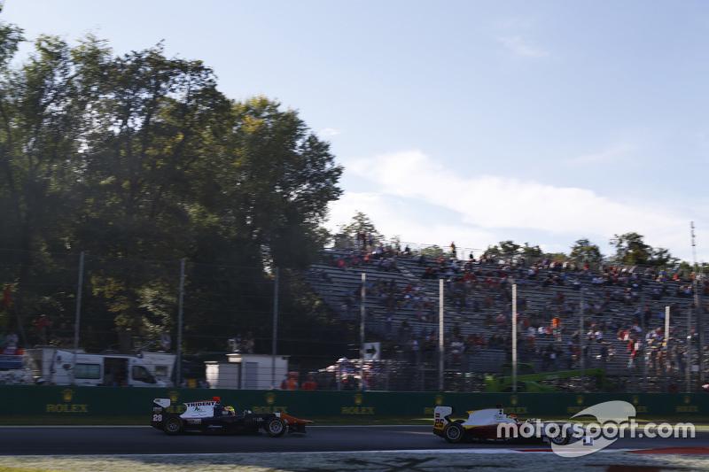 Brта on Maisano, Campos Racing лідирує Аморі Бондюель, Trident