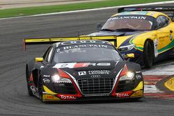السيارة رقم 2 نادي فريق أودي دبليو آر تي البلجيكي أودي آر8 إل إم إس: إنزو إيدي، كريستوفر مايس