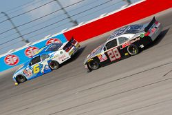 Darrell Wallace Jr., Roush Fenway Racing Ford and J.J. Yeley