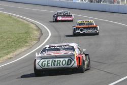 Pedro Gentile, JP Racing Chevrolet ve Camilo Echevarria, Coiro Dole Racing Torino ve Jose Manuel Urc