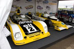 Vintage Renault race cars