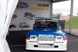 Autos de carreras de Renault Vintage