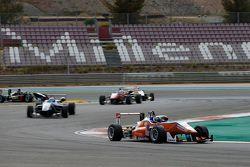 Santino Ferrucci, Mücke Motorsport Dallara Mercedes-Benz and Wing Chung Chang, Fortec Motorsports Da