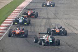 Sam MacLeod, Motopark Dallara Volkswagen and Michele Beretta, Mücke Motorsport Dallara Mercedes-Ben