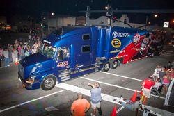 BK Racing hauler