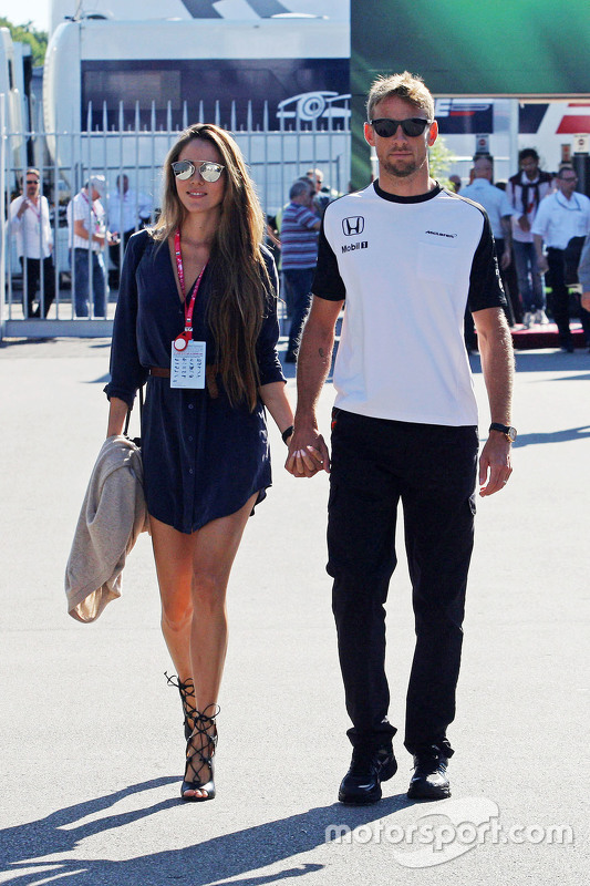 Jessica Button mit Jenson Button