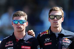Макс Ферстаппен, Scuderia Toro Rosso и Даниил Квят, Red Bull Racing