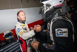GTC pole sahibi Franck Perera celebrates ile his Takımı