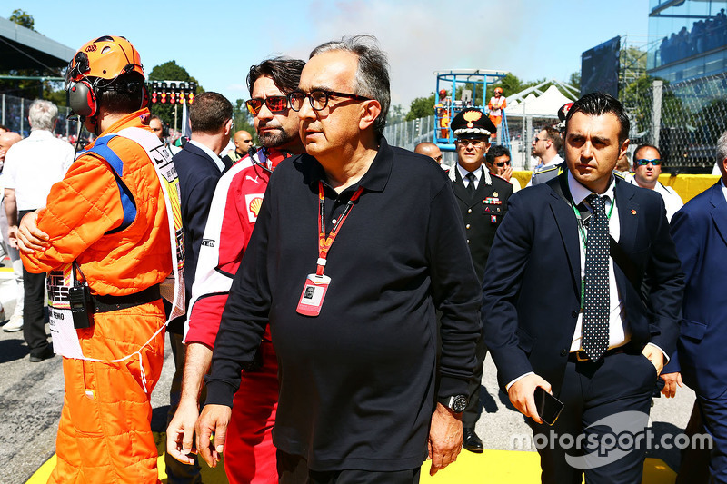 Sergio Marchionne, presidente de Ferrari y CEO de Fiat Chrysler Automóviles