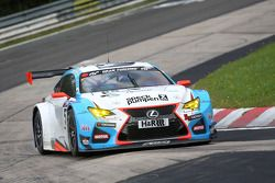 #55 Farnbacher Racing Lexus RC-F GT3: Dominik Farnbacher, Mario Farnbacher