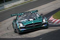 #2 Black Falcon Mercedes-Benz SLS AMG GT3: Adam Christodoulou, Hubert Haupt, Abdulaziz al Faisal, Ye
