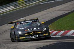 #9 Rowe Racing Mercedes-Benz SLS AMG GT3: Nico Bastian, Maro Engel